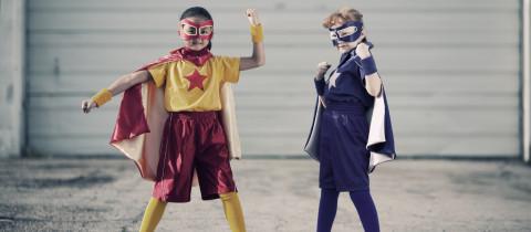 superheroes DES